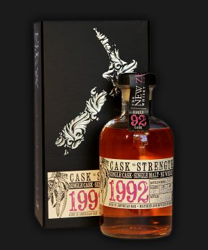 Cask Strength Single Malt NZ Whisky 1992 22 Years Old