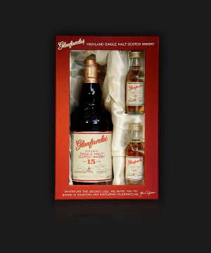 Glenfarclas Highland Single Malt Scotch Whisky Gift Box