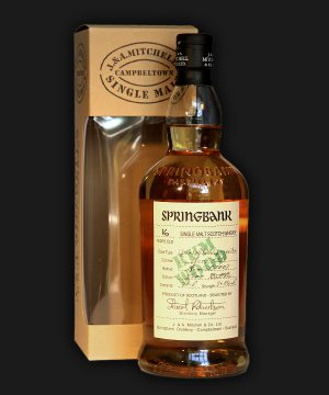 Springbank 16 Years Old Rum Wood Expression