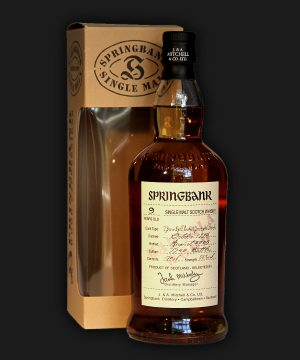 Springbank 9 Years Old Marsala Wood Expression