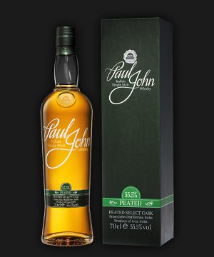 Paul John Indian Single Malt Whisky Peated