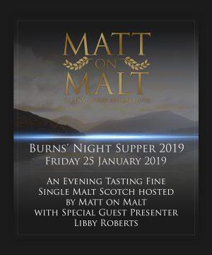 Event Ticket – Burns' Night Supper 2019 – 25.01.19