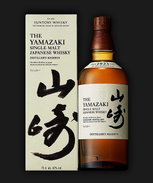 Yamazaki Japanese Single Malt Whisky Distillers Reserve
